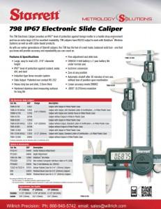Starrett Electronic Caliper 798 Series