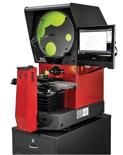 Starrett HB400, the most popular of the Horizontal Comparators, brightest image in the industry, 12 x 6 travel