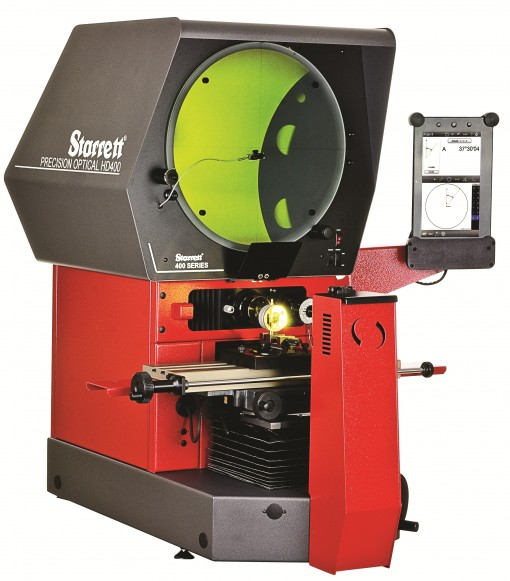 Starrett HD400 Bench Top Horizontal Optical Comparator