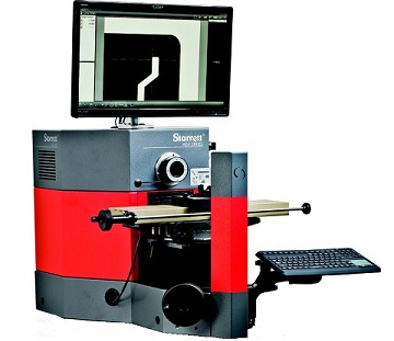 Starrett HDV300 Horizontal Digital Video Comparators for CAD Overlays and Touch Screen Video Measuring