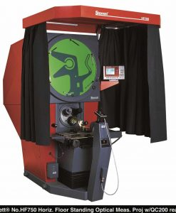 Starrett HF750 Floor Standing 30 INCH SCREEN Horizontal Optical comparator, 12 x 8 travel