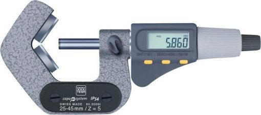 Brown and Sharpe Electronic V-Anvil Micrometer