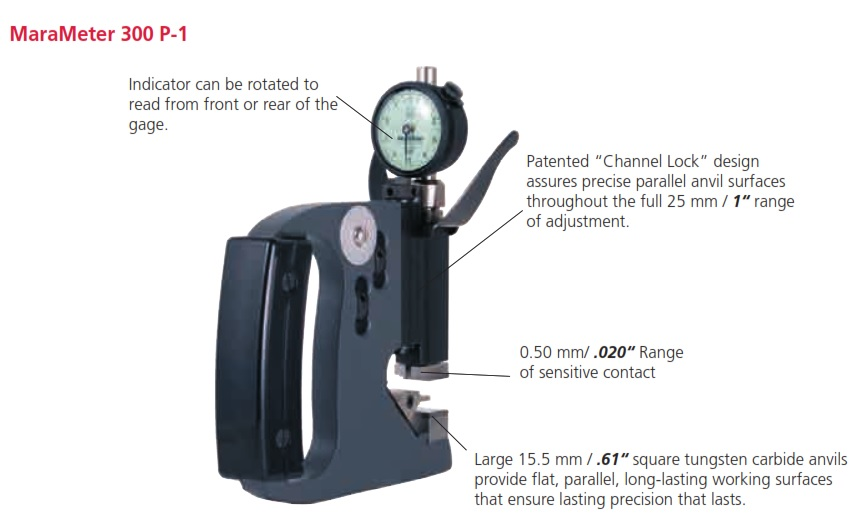 Mahr 300P Dial Snap Gages