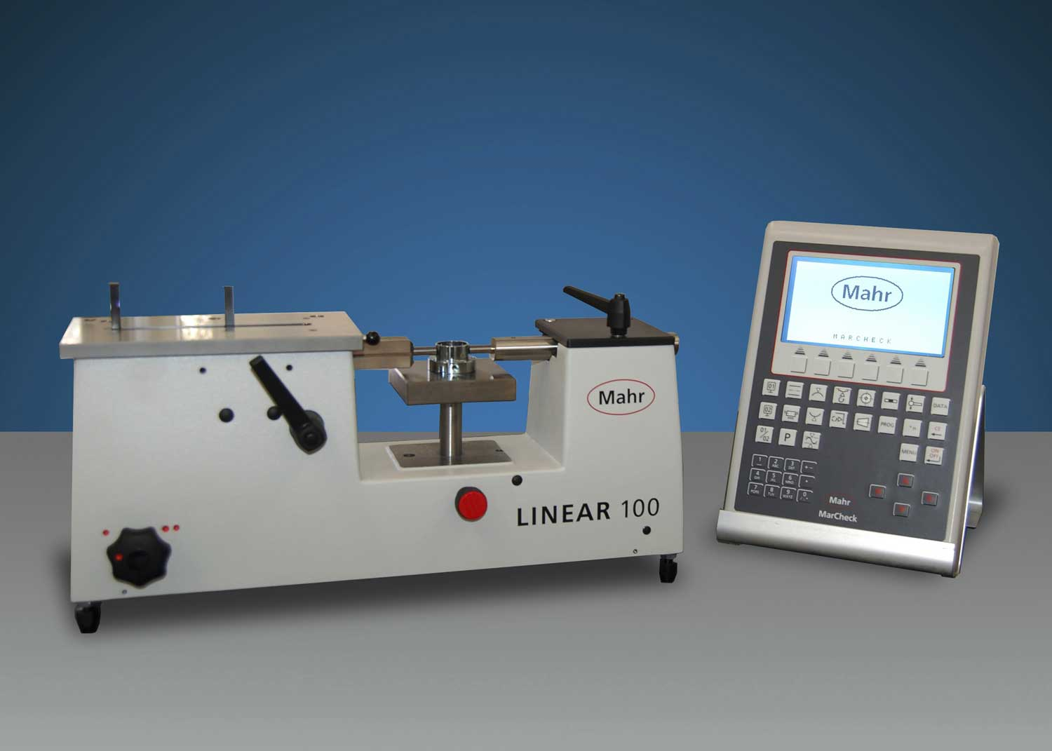 Linear Measuring Devices : Mahr federal linear length measuring machine