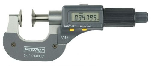 Fowler Electronic Disc Micrometer
