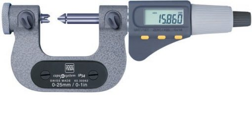 Brown and Sharpe Tesa Thread Electronic Micrometer