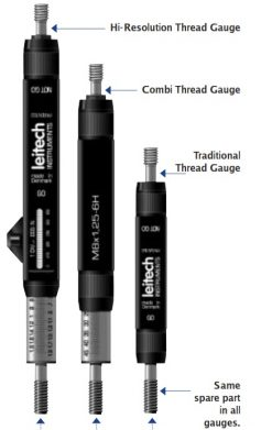 Leitech combi thread gage depth