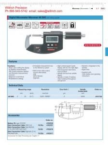 Mahr Federal 40 EWS Digital Micrometer