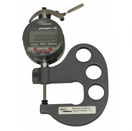 Mahr Federal XLI-22P-20 Digital Pocket Thickness Gage