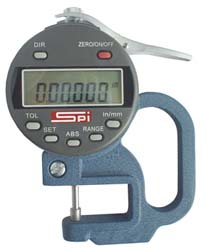 SPI Electronic Thickness Gage
