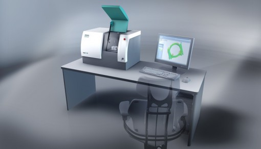 WENZEL exaCT-xs® CT Workstation, designed for small plastic parts and low-density components