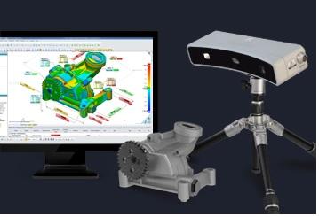 Geomajic Capture LED Scanner