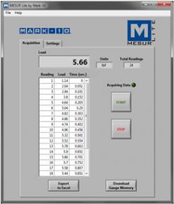 mesur gauge software