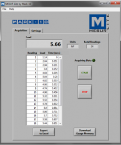 mesur gauge software