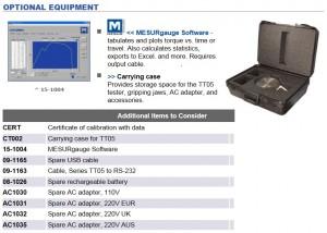 Mark-10 TT05 Torque tester