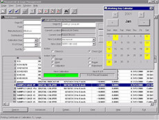 Gage Tracking Software