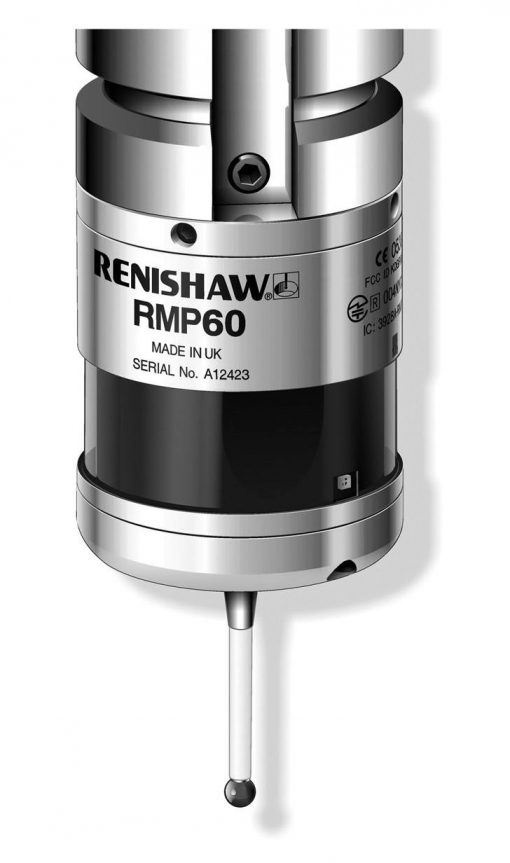 Renishaw RMP60 Machine Tool Probe Touch Trigger with Radio