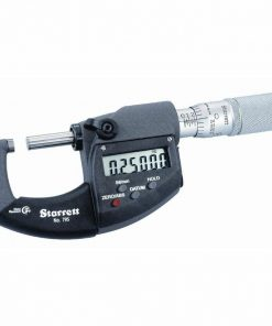Starrett Electronic Outside Micrometer