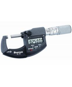Starrett Electronic Outside Micrometer