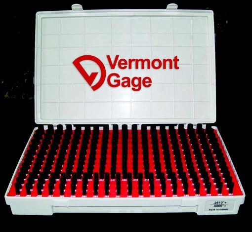 Vermont Gage Black Oxide Pin Gage Sets Class ZZ