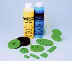 ReproRubber Thin Pour Green Kit