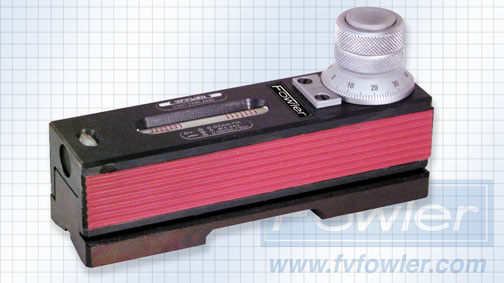 Fowler Adjustable Micrometer Spirit Level