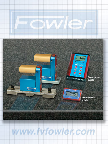 Fowler Wyler Surface Plate Kit with Bluemeter Basic