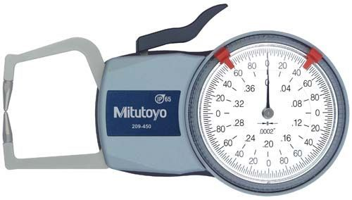 Mitutoyo Dial Caliper Gages External Type - Series 209