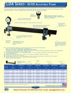 Dorsey LDA Series ID/OD Adjustable Frame
