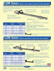 Dorsey LDR/LDB Series Large Diameter Gages