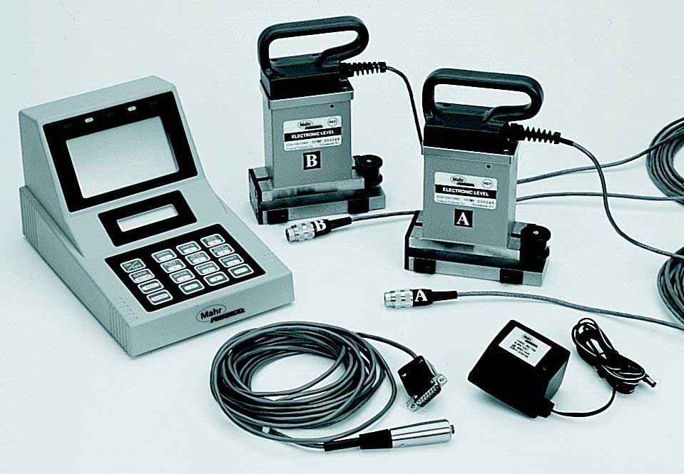 Electronic Federal Gage Products : Mahr federal electronic level systems willrich precision