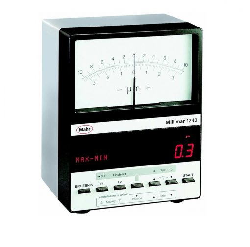 Mahr Millimar 1240 Digital and Analog Display