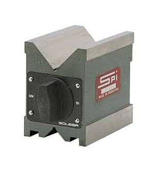 SPI Part Number 95_705_0 Magnetic V-Blocks
