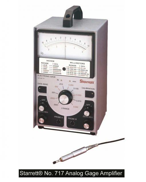 Starrett 717 Amplifier  analog and digital output