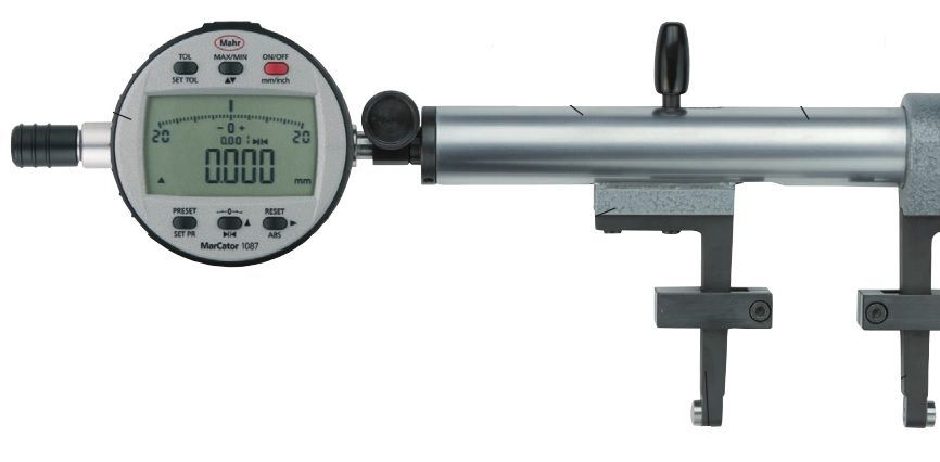 Electronic Federal Gage Products : Mahr federal multimar universal gage t for external