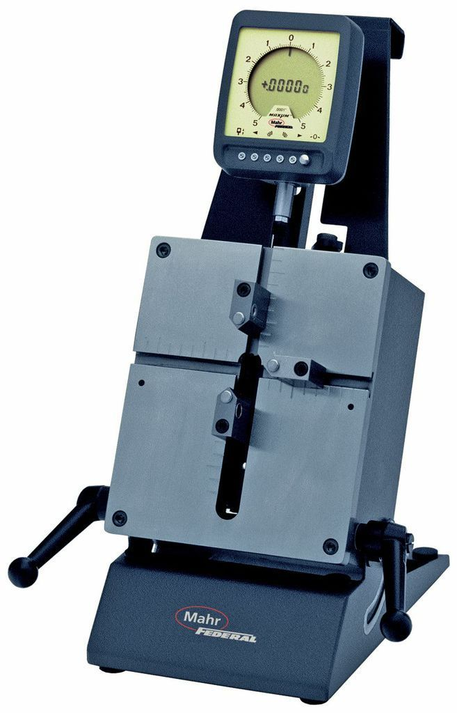 Electronic Federal Gage Products : Mahr federal b id od gage with quot t or v plate