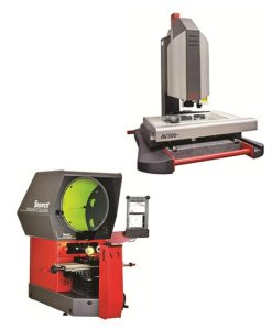 Optical Comparators & Video Measuring Machines