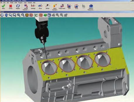 Renishaw Modus CMM Software