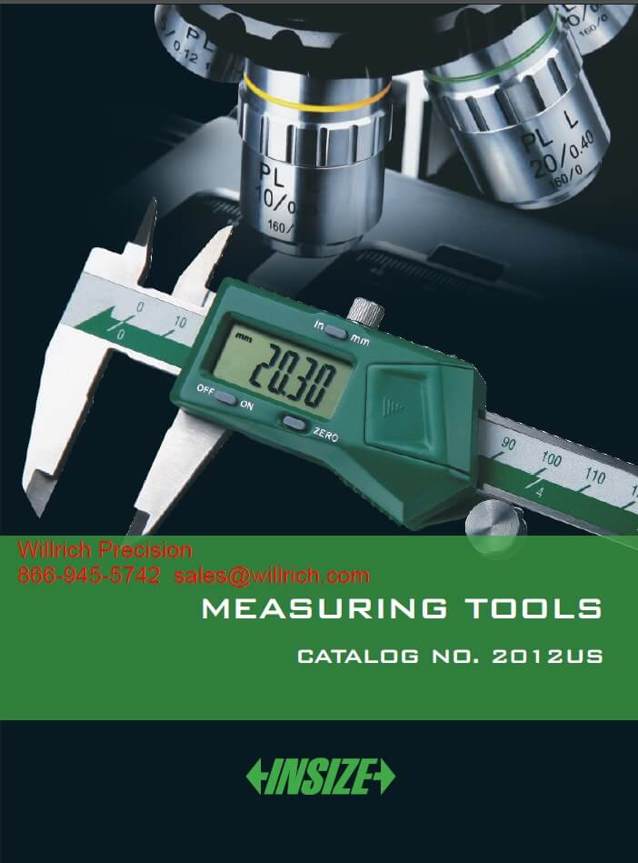 INSIZE MEASURING TOOLS CATALOG