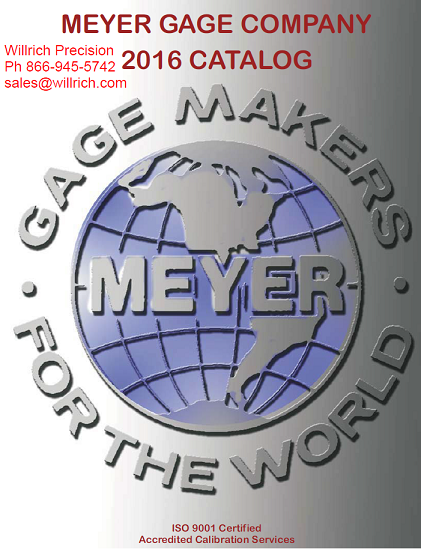 meyer pin gage