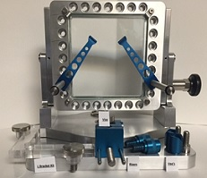 optical comparator fixture