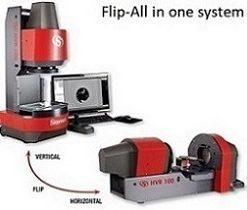 starrett flip video measuring machine