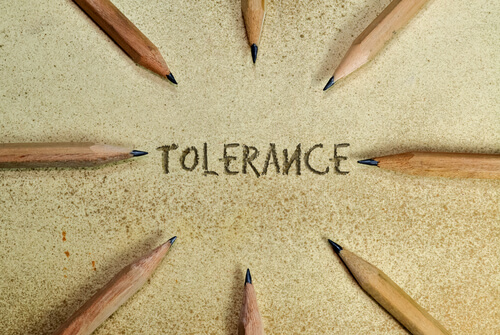 increasing pressure on tolerance