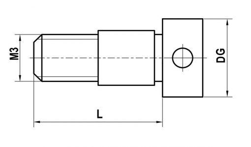 m3-clamping-screw-xxt-titanium-l-8-mm-for-zeiss